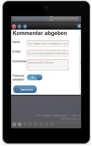 jQuery Mobile App geöffnet auf Samsung Tablet